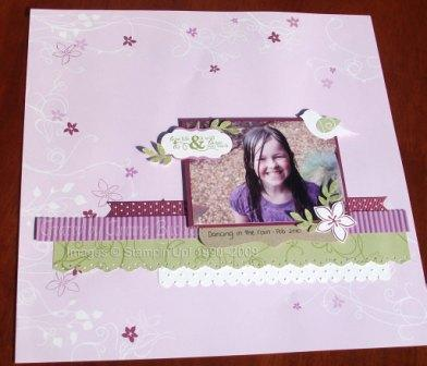 Blog hop layout